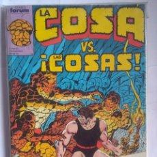 Cómics: LA COSA 11 AL 15 FORUM. Lote 202433993