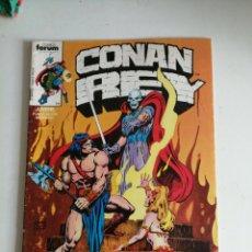 Cómics: CONAN REY. Nº 11. FORUM. Lote 202444890