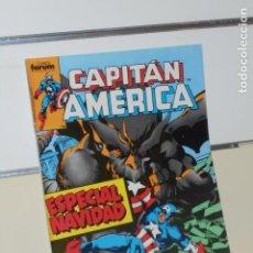 Comics: MARVEL CAPITAN AMERICA ESPECIAL NAVIDAD VOL. 1 Nº 11 - FORUM. Lote 202476920