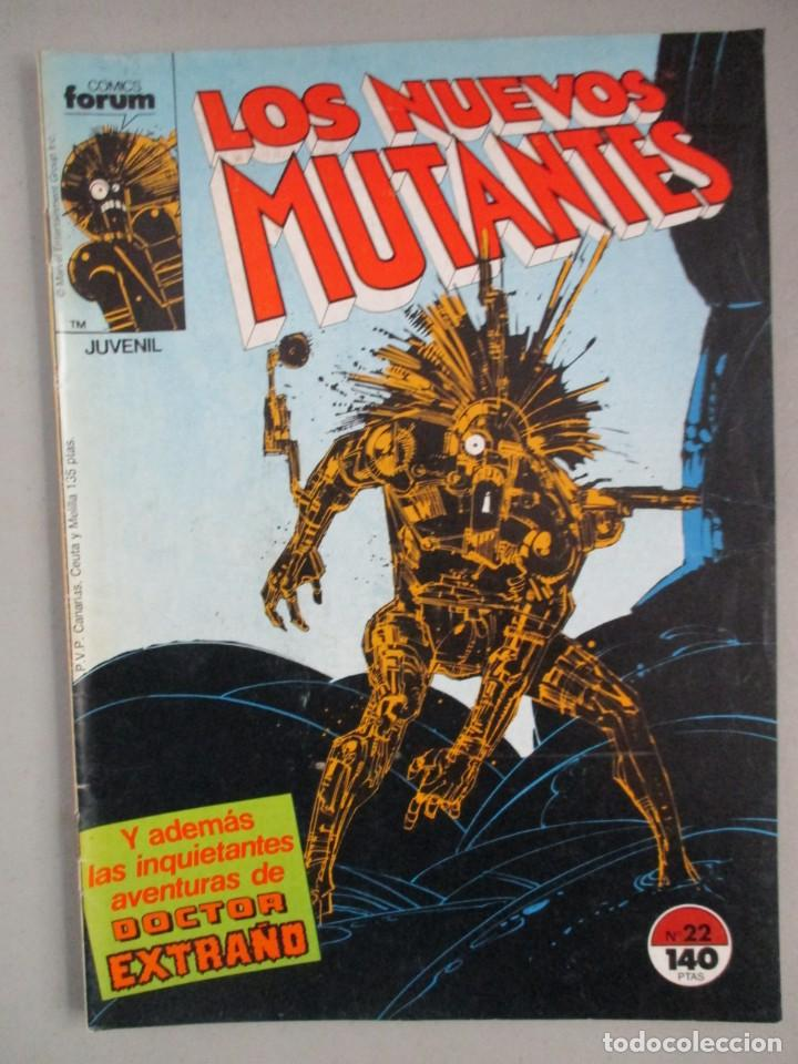NUEVOS MUTANTES - Nº 22 - VOLUMEN 1 - V1 - FORUM (Tebeos y Comics - Forum - Nuevos Mutantes)