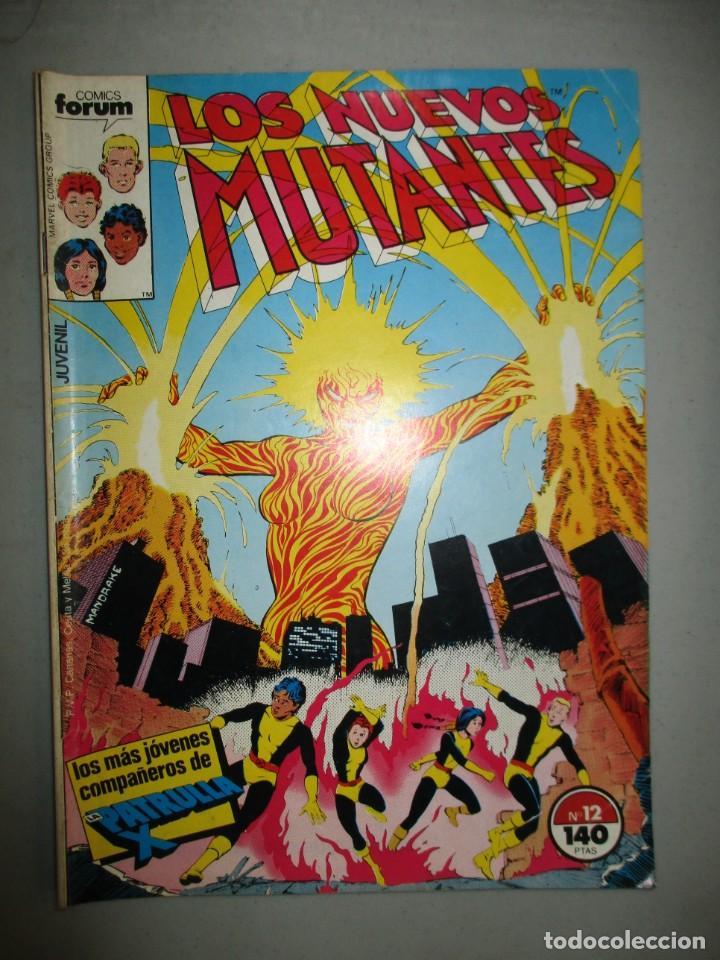NUEVOS MUTANTES - Nº 12 - VOLUMEN 1 - V1 - FORUM (Tebeos y Comics - Forum - Nuevos Mutantes)