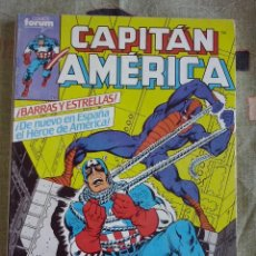 Cómics: FORUM - CAPITAN AMERICA VOL.1 RETAPADO CON LOS NUM. 1 AL 5 ( NUM. 1-2-3-4-5 ). EXCELENTE ESTADO. Lote 202647583