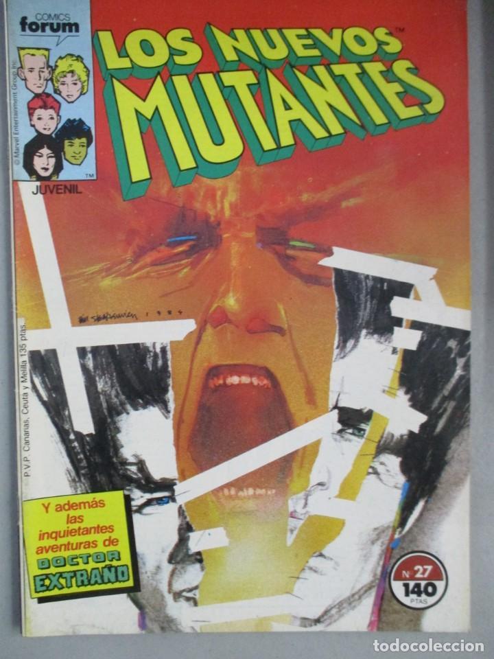 NUEVOS MUTANTES - Nº 27 - VOLUMEN 1 - V1 - FORUM (Tebeos y Comics - Forum - Nuevos Mutantes)