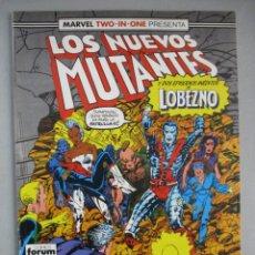 Cómics: NUEVOS MUTANTES - MARVEL TWO IN ONE - Nº 45 - VOLUMEN 1 - V1 - FORUM. Lote 202648780