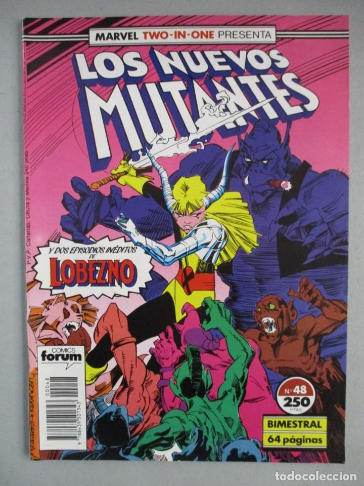 NUEVOS MUTANTES - MARVEL TWO IN ONE - Nº 48 - VOLUMEN 1 - V1 - FORUM (Tebeos y Comics - Forum - Nuevos Mutantes)