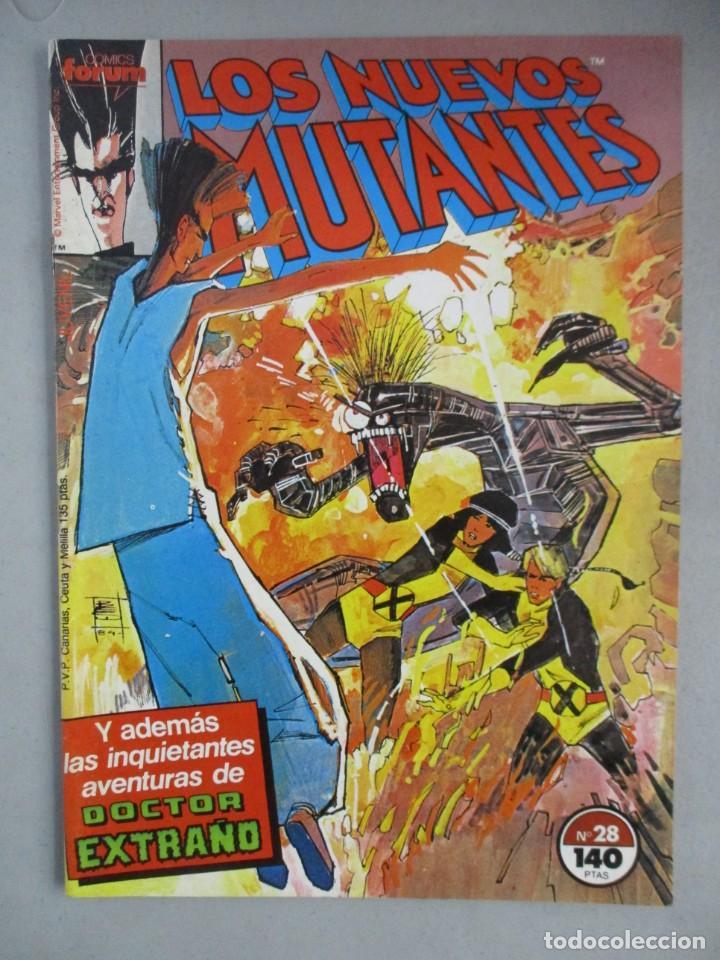 NUEVOS MUTANTES - Nº 28 - VOLUMEN 1 - V1 - FORUM (Tebeos y Comics - Forum - Nuevos Mutantes)
