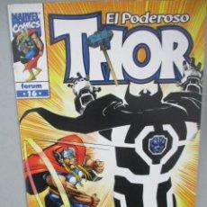 Cómics: EL PODEROSO THOR - Nº 16 - V 4 - VOLUMEN IV - FORUM. Lote 202652727