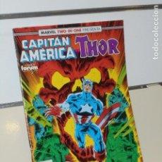 Comics: MARVEL TWO-IN-ONE PRESENTA CAPITAN AMERICA THOR Nº 66 - FORUM. Lote 202696202