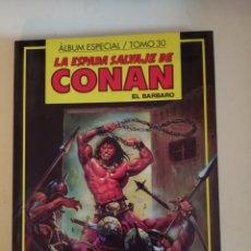 Cómics: LA ESPADA SALVAJE DE CONAN EL BARBARO - TOMO 30 - ALBUM ESPECIAL - FORUM. Lote 202707645