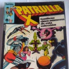 Cómics: PATRULLA X 32 AL 36. Lote 202760031