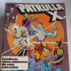 Cómics: PATRULLA X 77 AL 81. Lote 202760455