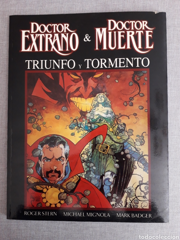 TRIUNFO Y TORMENTO. STERN Y MIGNOLA. NOVELA GRÁFICA NUM 5 (Tebeos y Comics - Forum - Prestiges y Tomos)