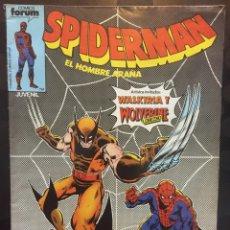 Comics: SPIDERMAN EL HOMBRE ARAÑA VOL.1 N.35 CON WALKIRIA Y WOLVERINE . ( 1983/1994 ).. Lote 202804963