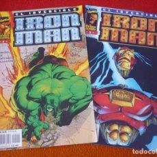 Cómics: IRON MAN VOL. 2 NºS 2 Y 3 HEROES REBORN ( LOBDELL LEE ) ¡BUEN ESTADO! FORUM MARVEL. Lote 202844007