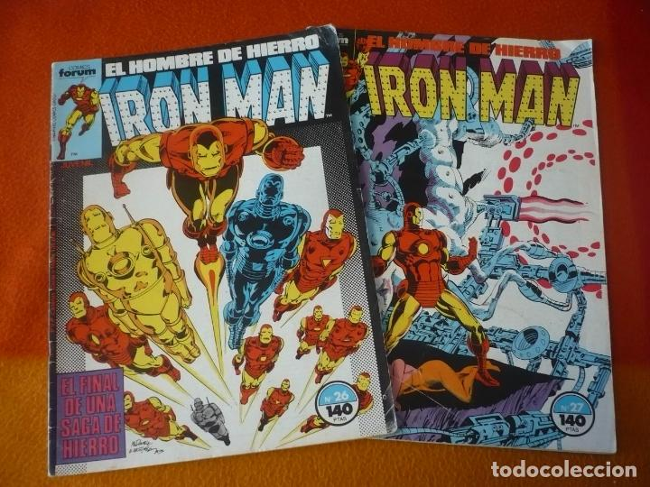 IRON MAN VOL. 1 NºS 26 Y 27 ( O'NEIL ) FORUM MARVEL (Tebeos y Comics - Forum - Iron Man)