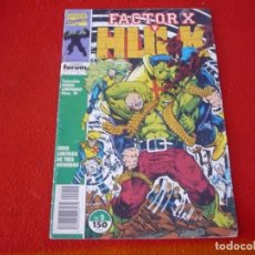 Cómics: FACTOR X Y HULK Nº 2 ( PETER DAVID ) FORUM MARVEL. Lote 202845296