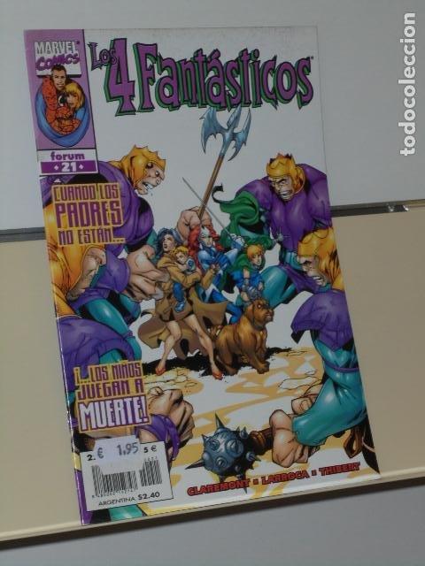 MARVEL HEROES RETURN LOS 4 FANTASTICOS VOL. 3 Nº 21 - FORUM (Tebeos y Comics - Forum - 4 Fantásticos)