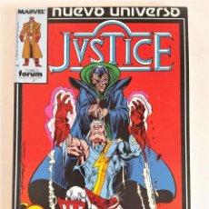 Cómics: JUSTICE (NUEVO UNIVERSO MARVEL) EXTRA 1 [# 1-6] ~ GOODWIN /ENGLEHART /ISHERWOOD. Lote 202887361