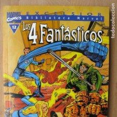 Comics: BIBLIOTECA MARVEL - LOS 4 FANTÁSTICOS - 12 - TOMO - MARVEL - FORUM. Lote 202995586