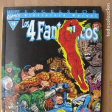 Comics: BIBLIOTECA MARVEL - LOS 4 FANTÁSTICOS - 13 - TOMO - MARVEL - FORUM. Lote 202995651