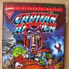 Comics: BIBLIOTECA MARVEL- CAPITAN AMERICA - FORUM - NUMERO 17. Lote 202995786