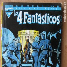 Comics: BIBLIOTECA MARVEL - LOS 4 FANTÁSTICOS - 11 - TOMO - MARVEL - FORUM. Lote 202996021