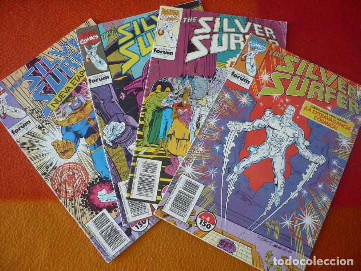 SILVER SURFER NºS 1, 2, 3 Y 4 ( STARLIN RON MARZ ) FORUM MARVEL ESTELA PLATEADA (Tebeos y Comics - Forum - Silver Surfer)