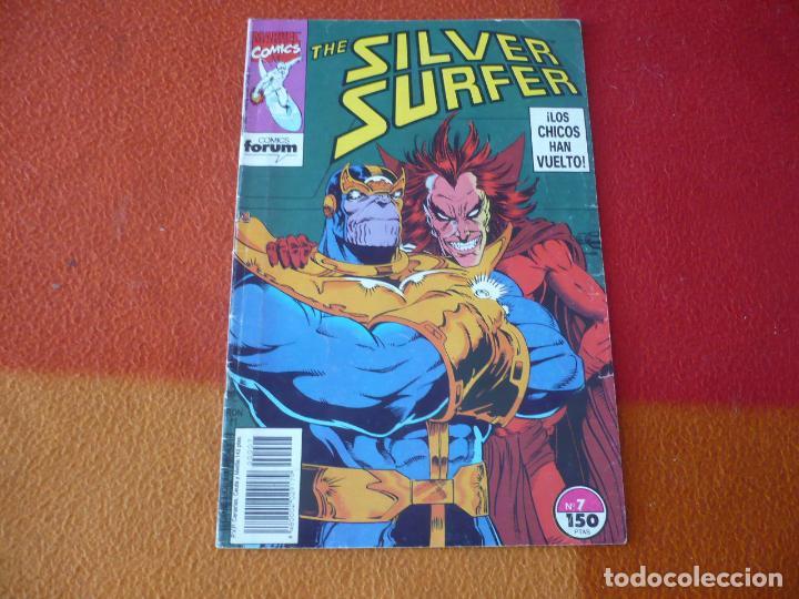 SILVER SURFER Nº 7 ( STARLIN RON MARZ ) FORUM MARVEL ESTELA PLATEADA (Tebeos y Comics - Forum - Silver Surfer)