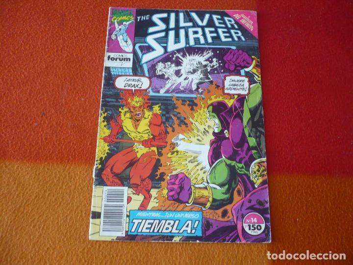 SILVER SURFER Nº 14 ( RON MARZ LIM ) FORUM MARVEL ESTELA PLATEADA (Tebeos y Comics - Forum - Silver Surfer)