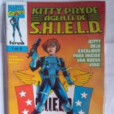 Cómics: KITTY PRYDE AGENTE DE SHIELD COMPLETA. Lote 203040847