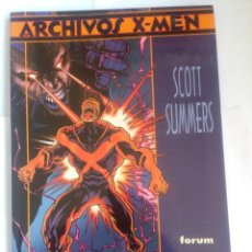 Cómics: ARCHIVOS X MEN SCOTT SUMMERS. Lote 203157391