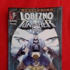 Cómics: LOBEZNO / PUNISHER REVELACIÓN FORUM. Lote 203211071