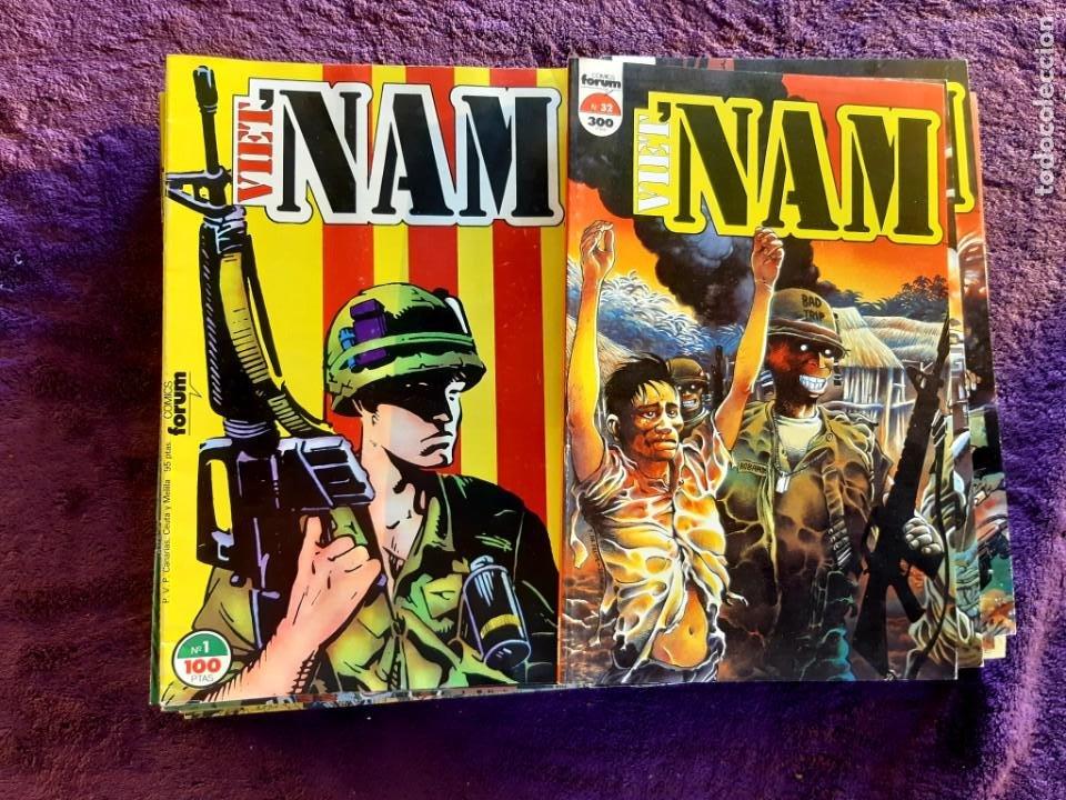 Cómics: VIETNAM COMPLETA EXCELENTE ESTADO SIN RETAPADOS - Foto 2 - 203507010