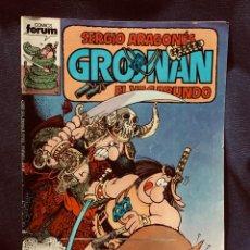 Cómics: COMIC GROONAN COMICS FORUM SERGIO ARAGONÉS EL VAGABUNDO N 6. Lote 203579073