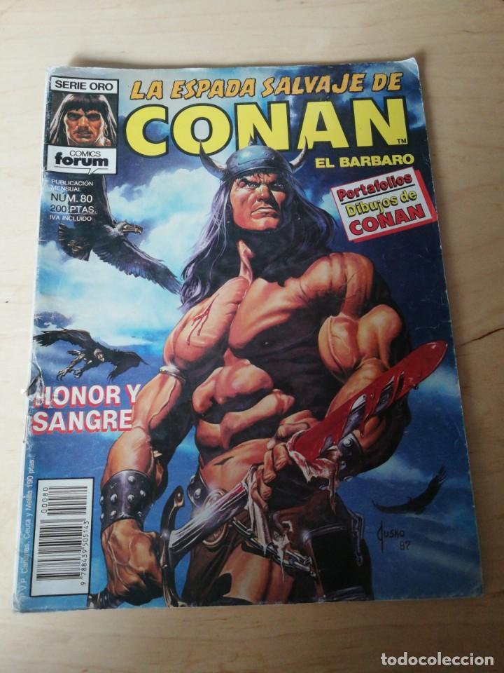 LA ESPADA SALVAJE DE CONAN. NÚMERO 80. (Tebeos y Comics - Forum - Conan)