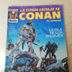 Cómics: LA ESPADA SALVAJE DE CONAN. NÚMERO 53. LOMO RASGADO.. Lote 203802370