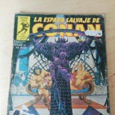Cómics: LA ESPADA SALVAJE DE CONAN. NÚMERO 41. MUY DETERIORADO.. Lote 203803243
