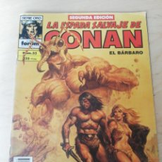 Cómics: LA ESPADA SALVAJE DE CONAN. NÚMERO 33. MARCAS DE HUMEDAD.. Lote 203803582