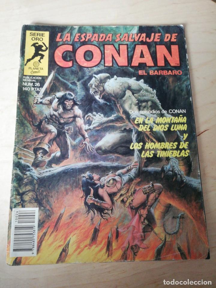 LA ESPADA SALVAJE DE CONAN. NÚMERO 26. DETERIORADO. (Tebeos y Comics - Forum - Conan)