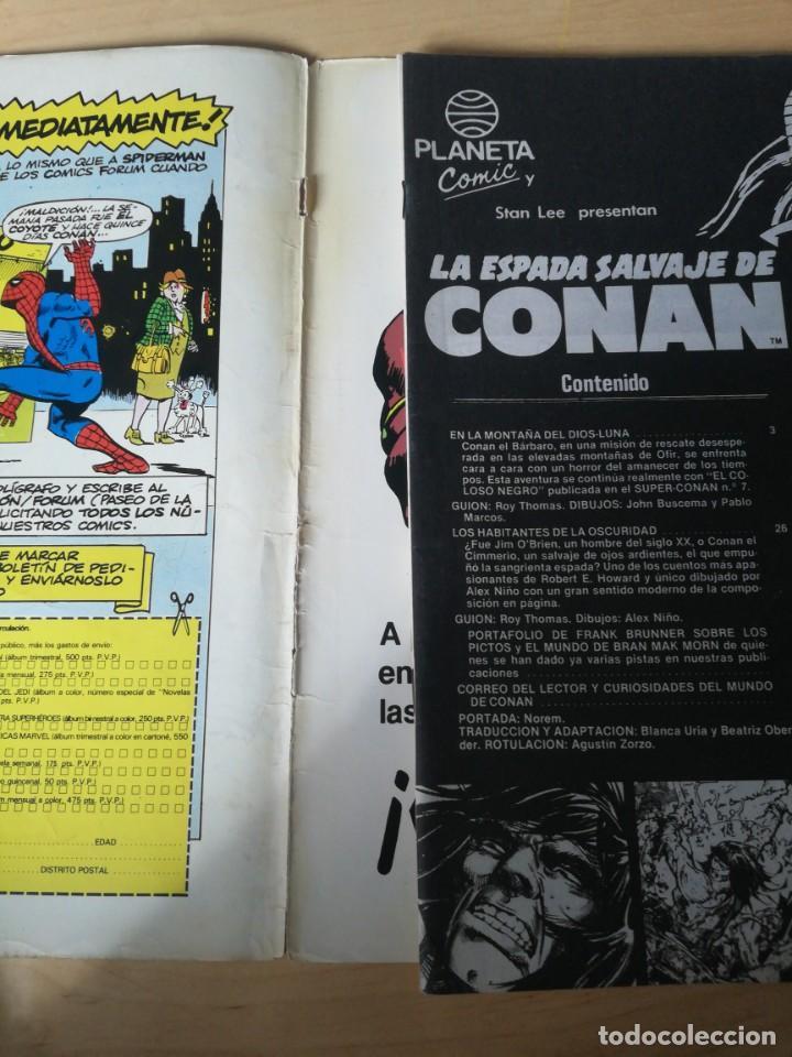 Cómics: La Espada salvaje de Conan. Número 26. Deteriorado. - Foto 3 - 203803871