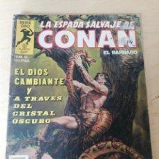 Cómics: LA ESPADA SALVAJE DE CONAN. NÚMERO 15. DETERIORADO.. Lote 203804023