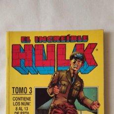 Cómics: # EL INCREIBLE HULK VOL. 2 Nº 3 RETAPADO. Lote 203810193