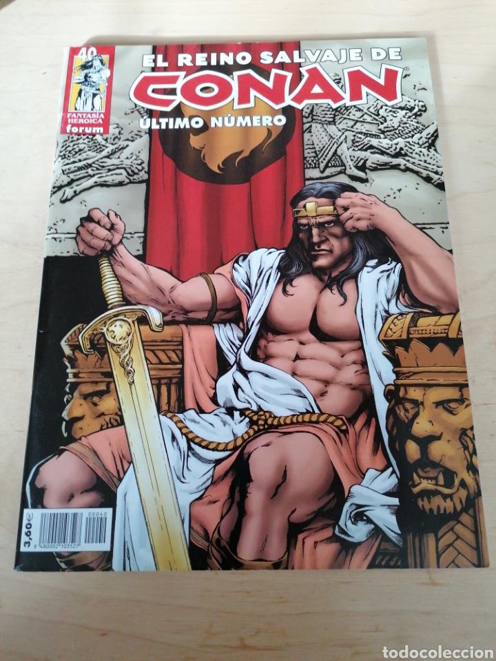 EL REINO SALVAJE DE CONAN. ÚLTIMO NÚMERO. (Tebeos y Comics - Forum - Conan)