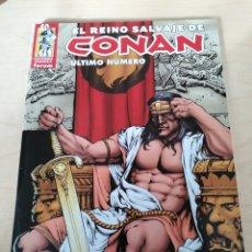 Cómics: EL REINO SALVAJE DE CONAN. ÚLTIMO NÚMERO.. Lote 203817661