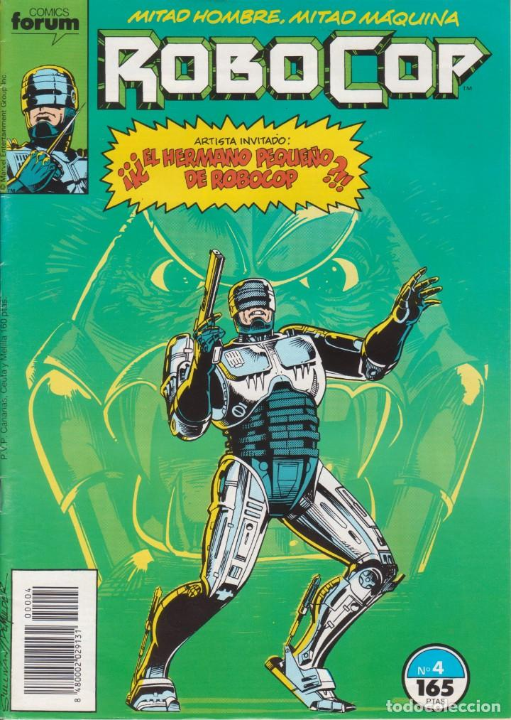 CÓMIC MARVEL ` ROBOCOP ´ Nº 4 ED.PLANETA / FORUM 1990 (Tebeos y Comics - Forum - Otros Forum)