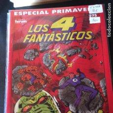 Comics : FORUM LOS 4 FANTASTICOS NUMERO ESPECIAL PRIMAVERA BUEN ESTADO. Lote 203902002