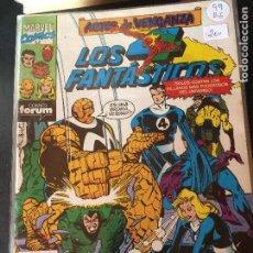Comics : FORUM LOS 4 FANTASTICOS NUMERO 99 BUEN ESTADO. Lote 203909053