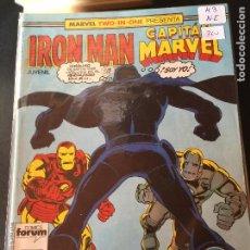 Fumetti: FORUM IRON MAN Y CAPITAN MARVEL NUMERO 43 NORMAL ESTADO. Lote 203911753