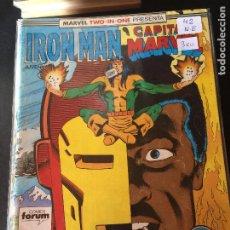 Fumetti: FORUM IRON MAN Y CAPITAN MARVEL NUMERO 42 NORMAL ESTADO. Lote 203911768