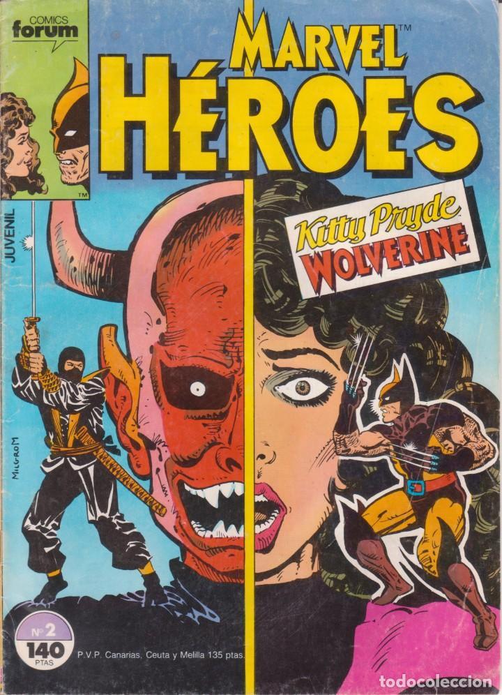 CÓMIC ` MARVEL HEROES ´ Nº 2 ED ED.PLANETA / FORUM (Tebeos y Comics - Forum - Otros Forum)